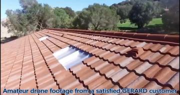Filmare cu drona de la un client GERARD mulţumit